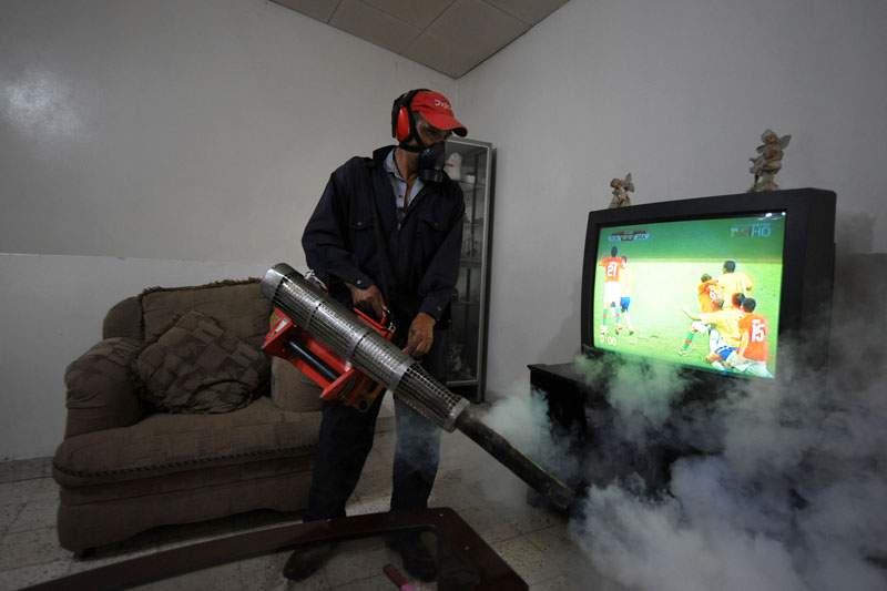 Risco de epidemia de dengue durante o Mundial2014