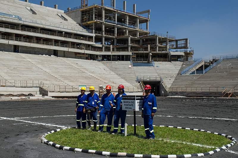Governo quer resolver impasse das telecomunicações nos estádios