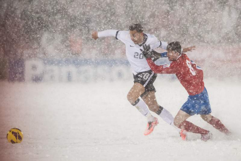 FIFA considera válido jogo entre Estados Unidos e Costa Rica