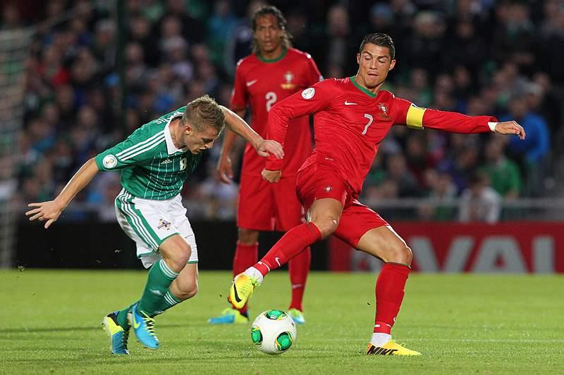 Pepe e João Pereira elogiam Ronaldo