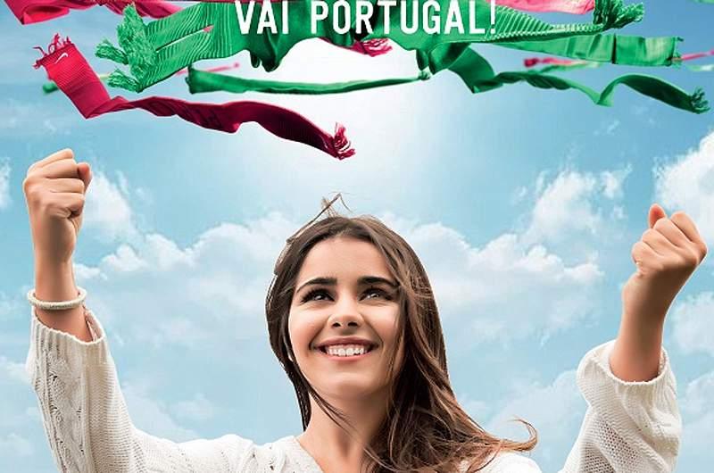 Kika canta a música de apoio a Portugal