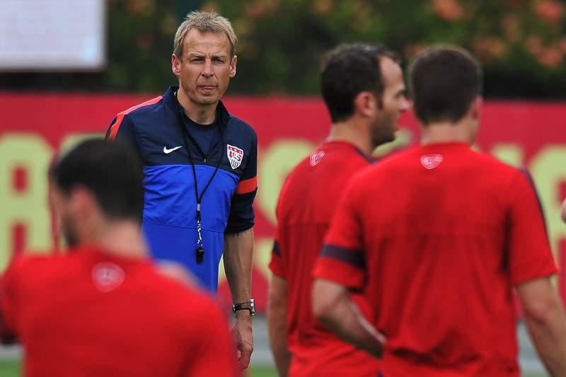 Klinsmann e Vogts confiantes na vitória da Alemanha