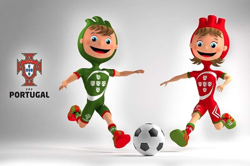 FPF apresenta as mascotes da seleção portuguesa