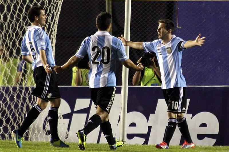 Bis de Messi carimba passaporte da Argentina para o Mundial