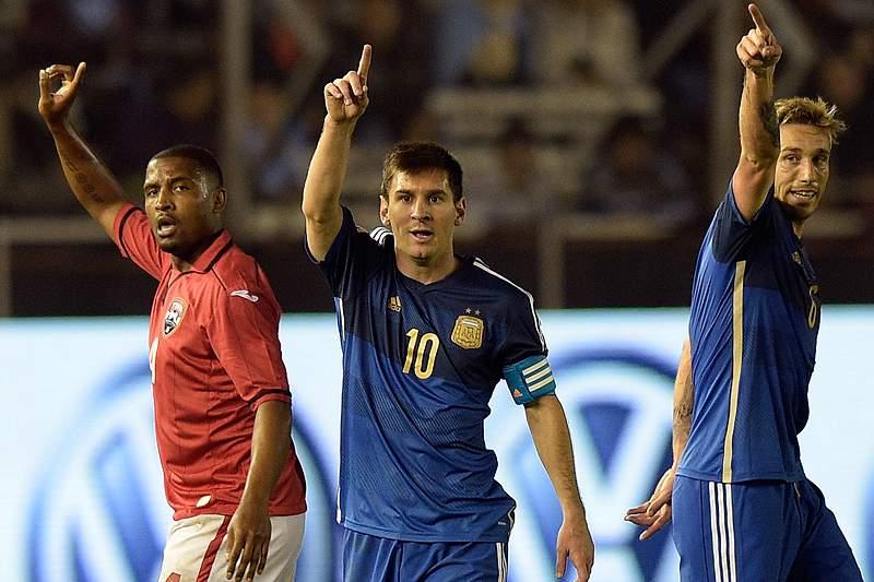 Argentina vence Trindade e Tobago no penúltimo teste