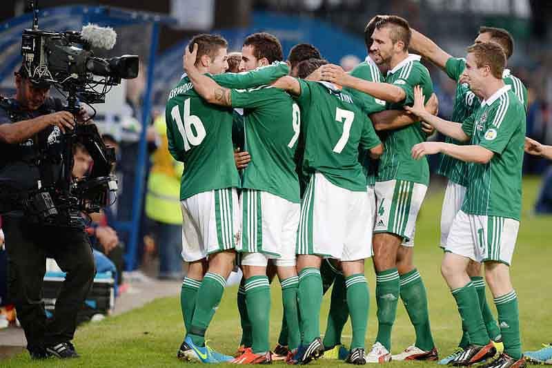 Irlanda do Norte derrota Rússia