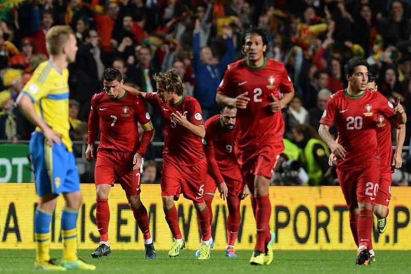 Jogadores portugueses dizem que «metade do trabalho está feito»