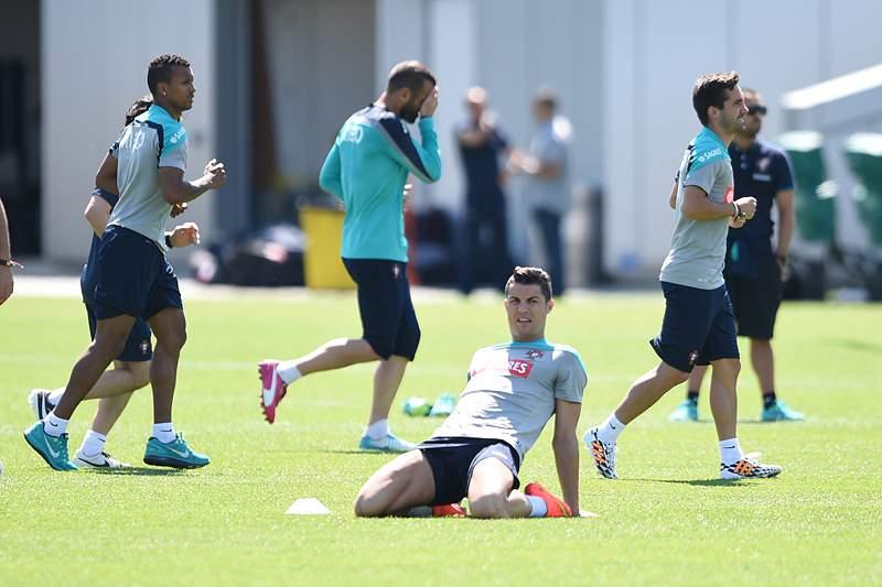 Portugal faz penúltimo treino nos EUA