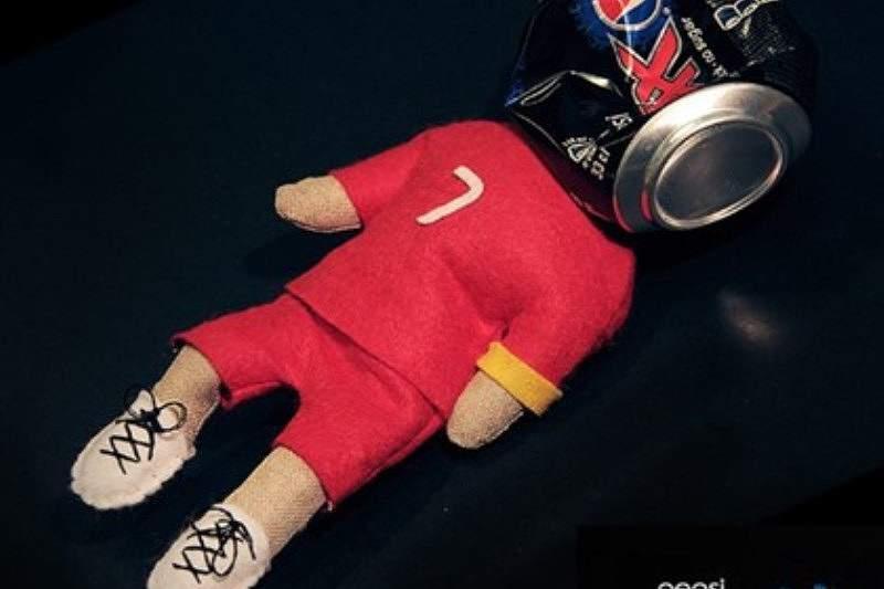 Marca de refrigerantes 'atropela' Ronaldo