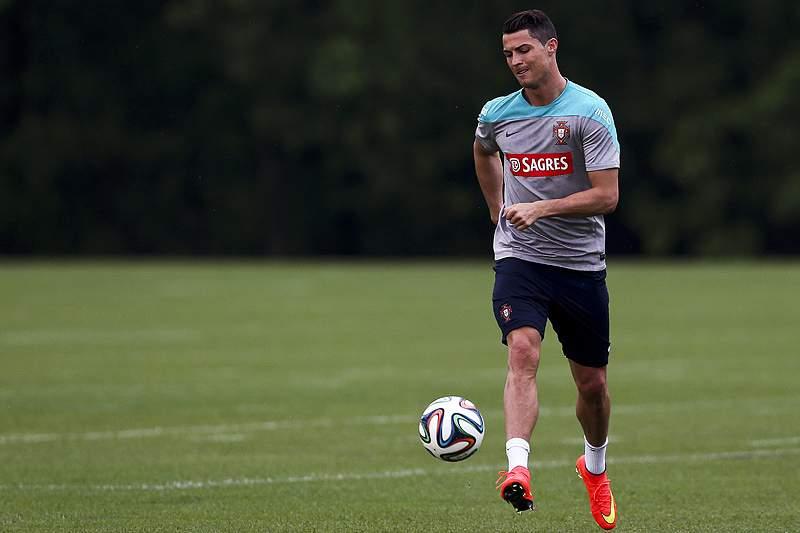 Ronaldo, Meireles e Pepe falham jogo com México