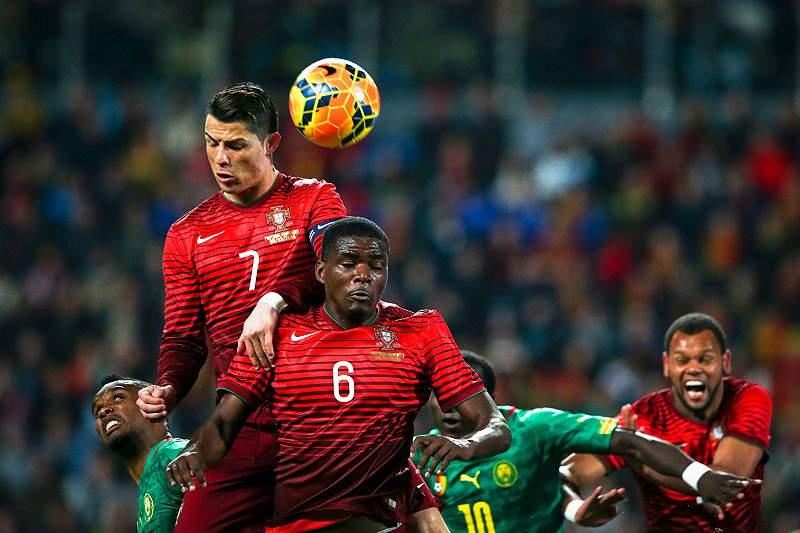Ronaldo dá vantagem a Portugal