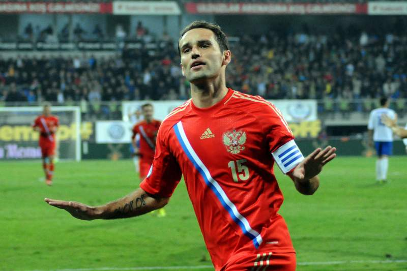 Shirokov eleito o melhor jogador do ano na Rússia
