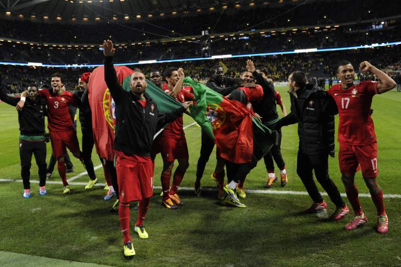 Seleção agradece apoio dos portugueses