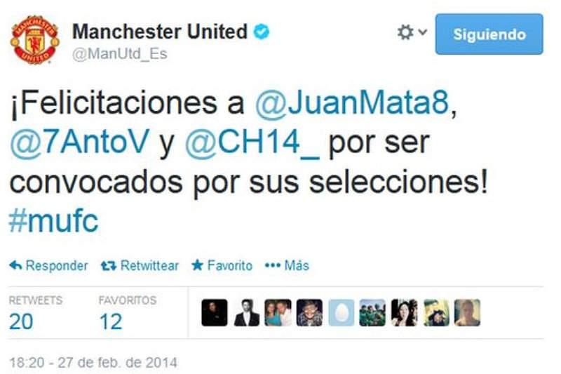 Manchester United antecipa chamada de Mata à La Roja