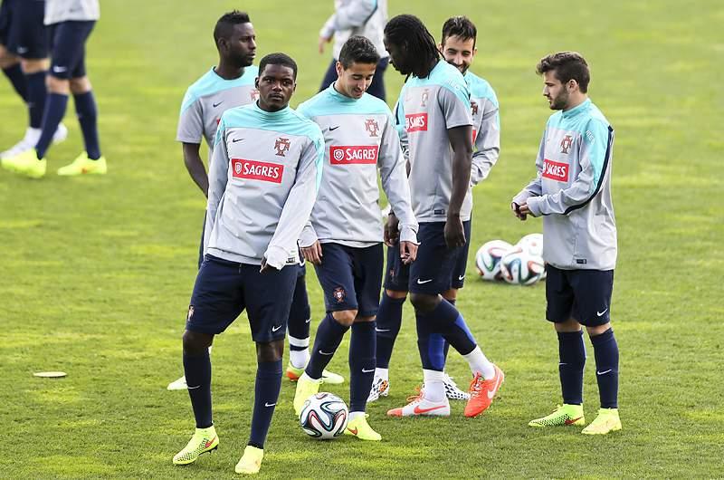 Seleção portuguesa realiza último treino no Estoril