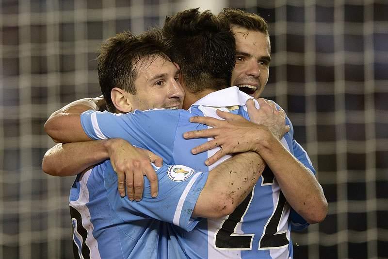 Maradona ultrapassado por Messi na seleção argentina