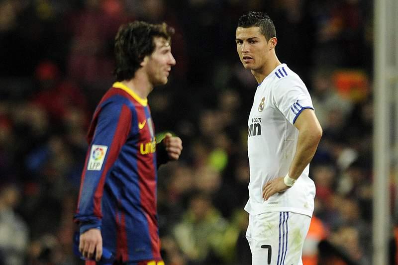 Ronaldo, e a maldição chamada Messi