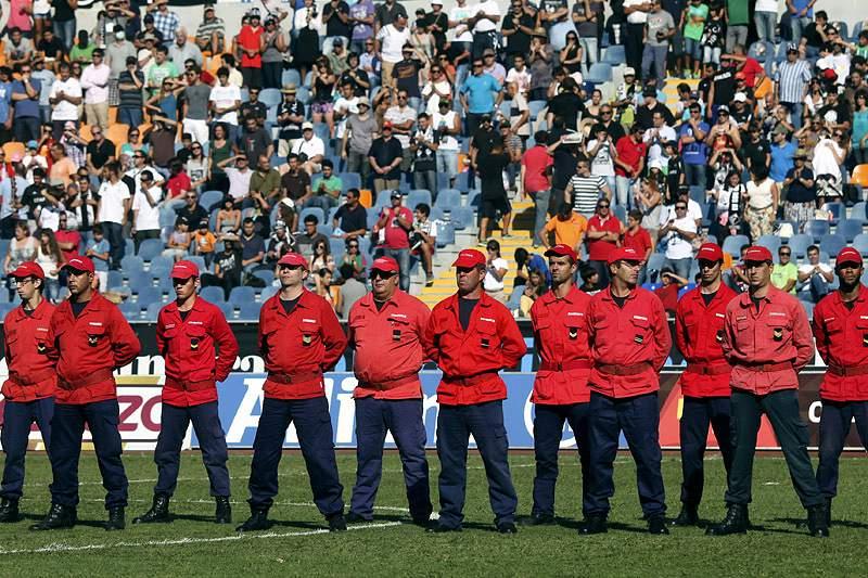 Jogo rende 6.824 euros para duas corporações de bombeiros