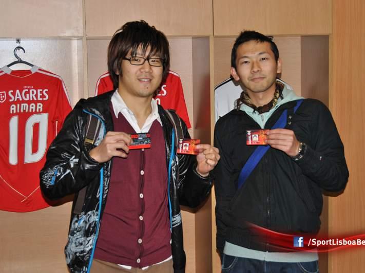 Benfica conquista japoneses