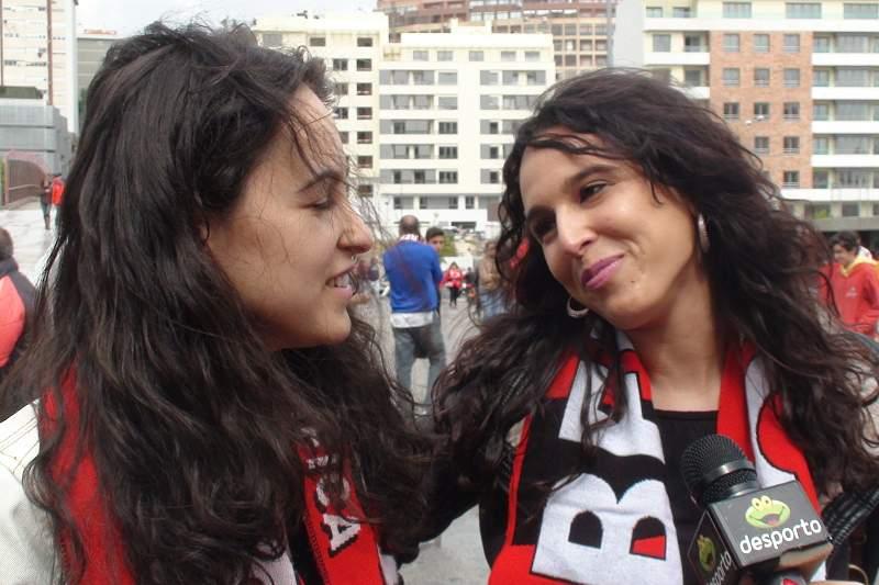 Adeptos do Benfica otimistas e do lado de Jorge Jesus