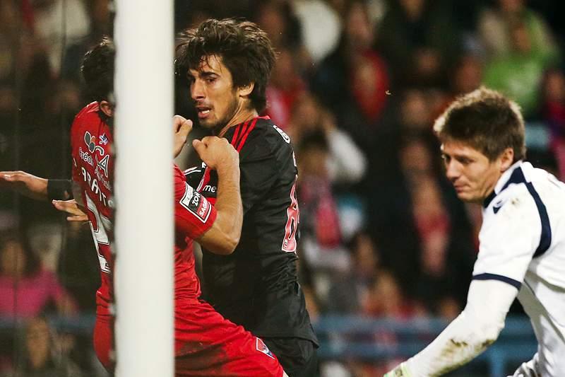 André Gomes apontou um dos golos dos encarnados