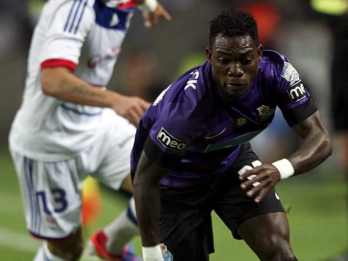 Christian Atsu de volta aos trabalhos do FC Porto