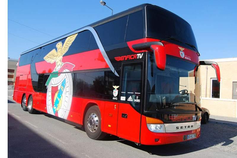 Benfica já está em Lisboa