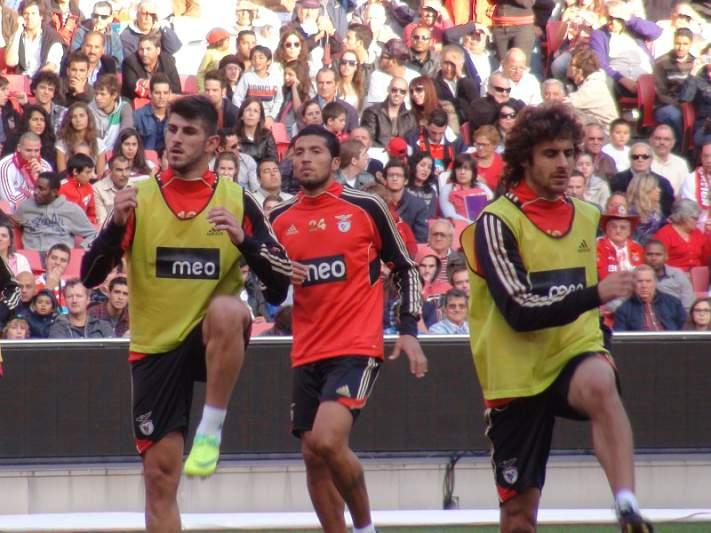 Um onze novo no Benfica