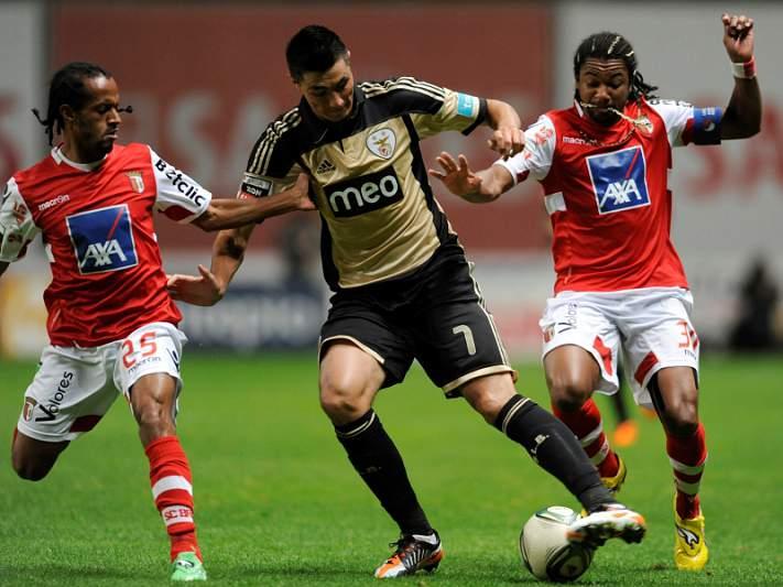 Benfica com teste difícil em Braga