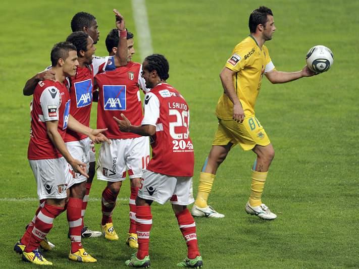 E de repente houve goleada em Braga