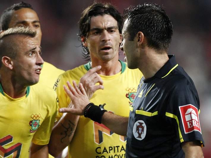 Bruno Esteves apita o Benfica - Paços de Ferreira