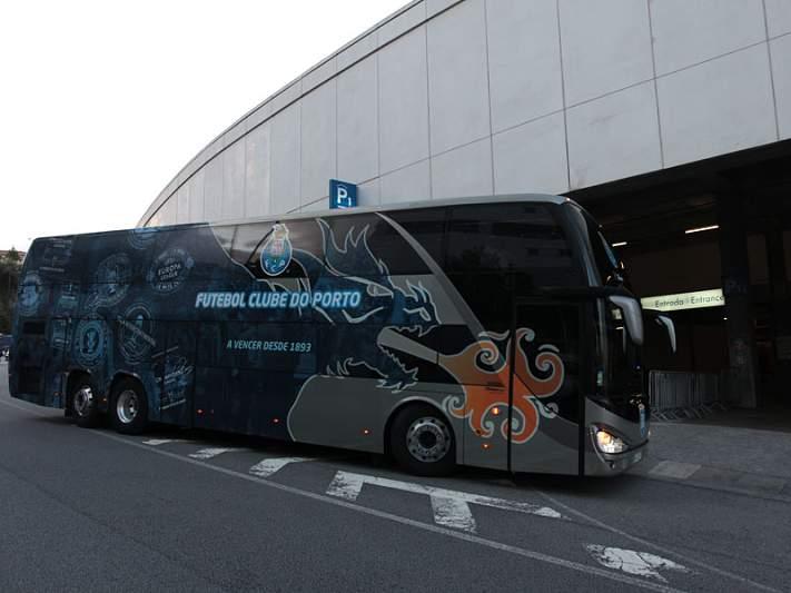 FC Porto chega a Lisboa, sem sobressaltos