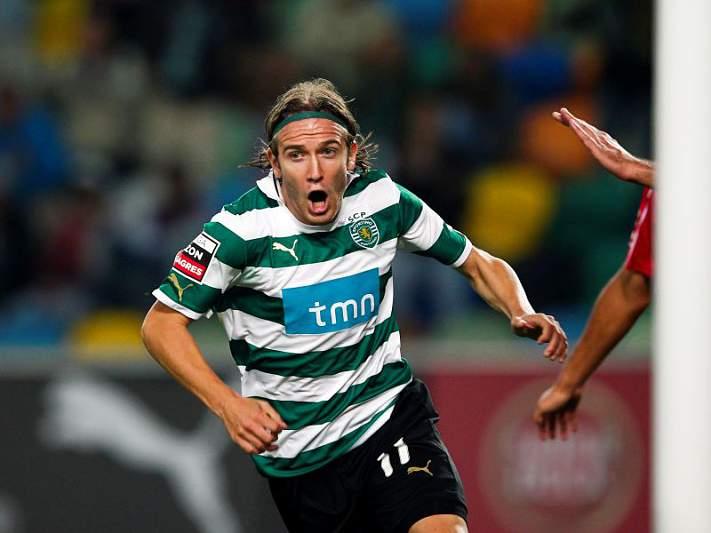 Nove meses depois, Sporting marca 3 golos