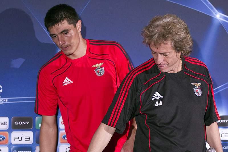 «Cardozo já está na história do Benfica»