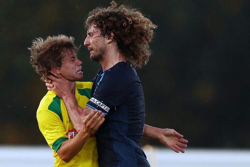 Caetano pode falhar jogo com SC Braga