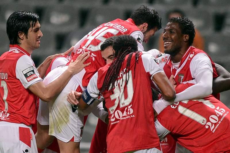 O Braga cimenta com golos a sua posição no pódio