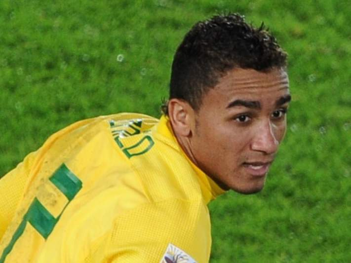 Danilo triste com a despedida do Santos