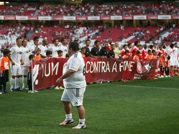 Fernando Mendes e a ovação de 'peso'