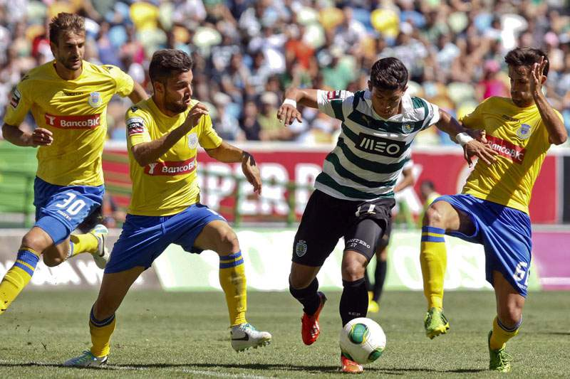 Sporting joga em Arouca com a liderança da Liga no horizonte