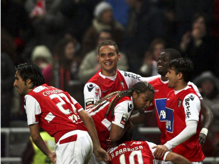 Braga largamente favorito frente ao Sporting