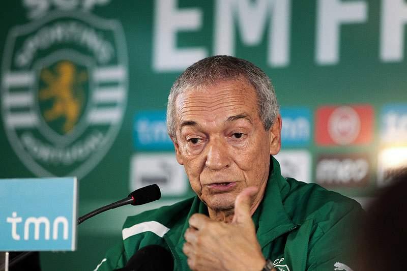 Jesualdo Ferreira quer mais golos em Alvalade