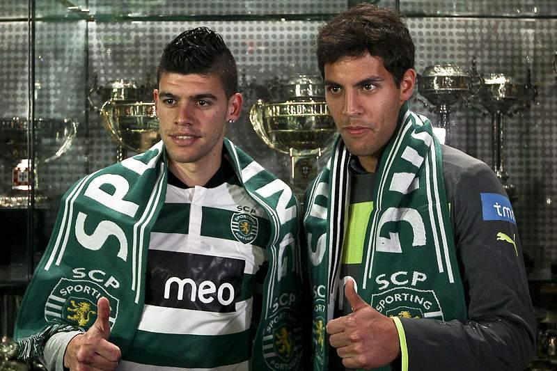 Joãozinho e Ventura apresentados em Alvalade