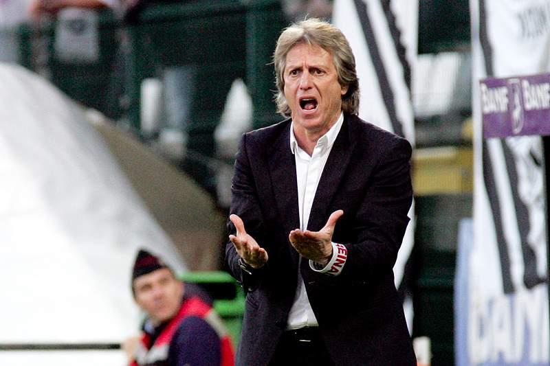 Jorge Jesus está há quatro épocas no Benfica