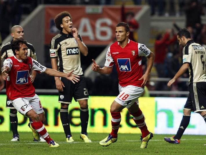 Braga defende liderança na Luz sob o olhar atento do FC Porto