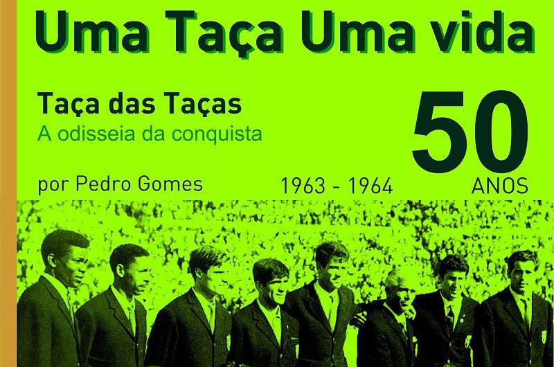 Pedro Gomes lança novo livro sobre a Taça da Taças de 1964