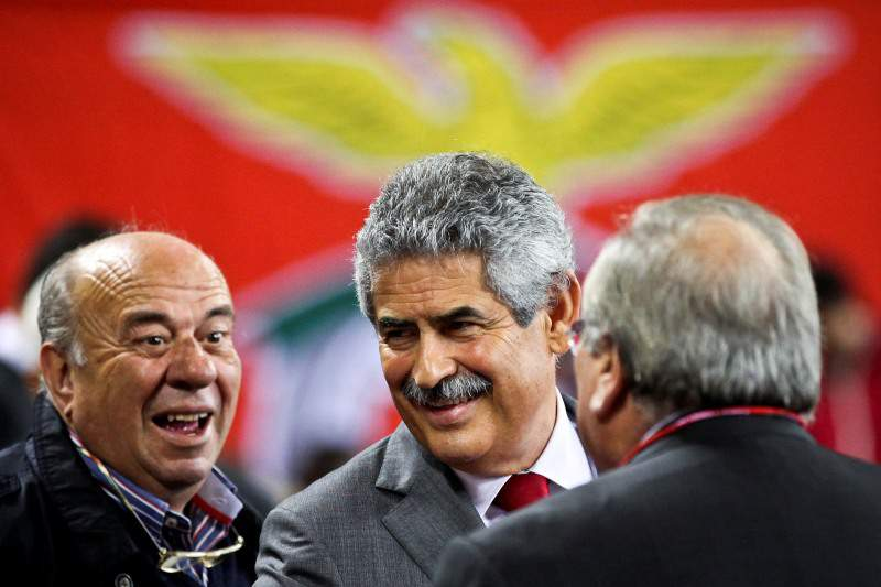 Vieira reeleito presidente do Benfica
