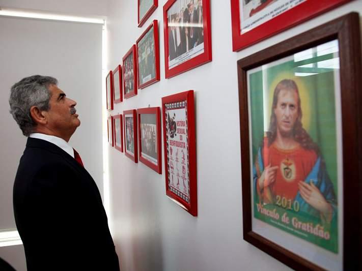 Vieira mostrou-se satisfeito com o momento do clube