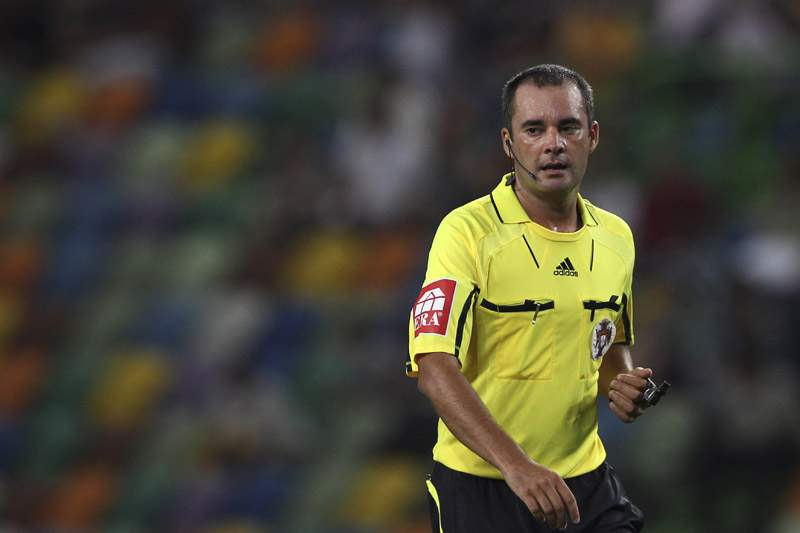 Marco Ferreira é o árbitro no dérbi da Luz