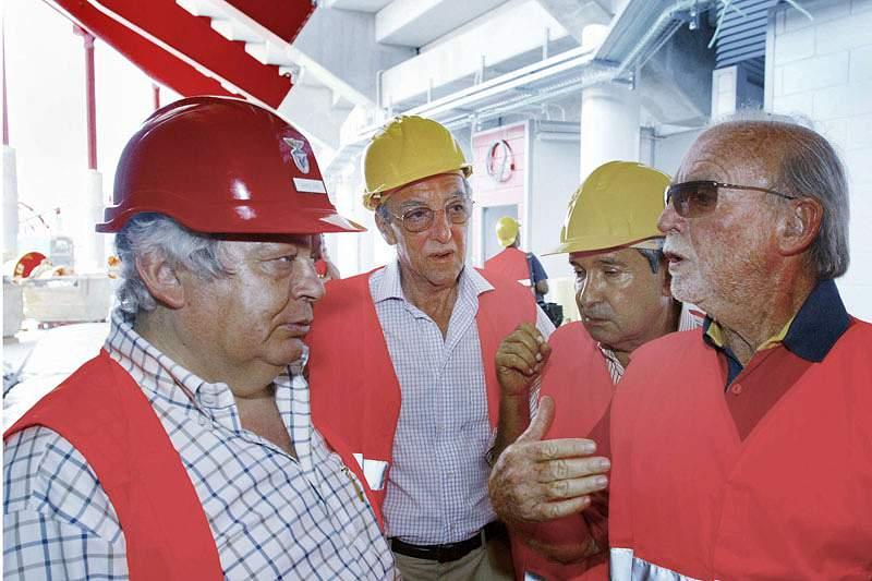 Mário Dias considera que houve falta de manutenção do Estádio da Luz