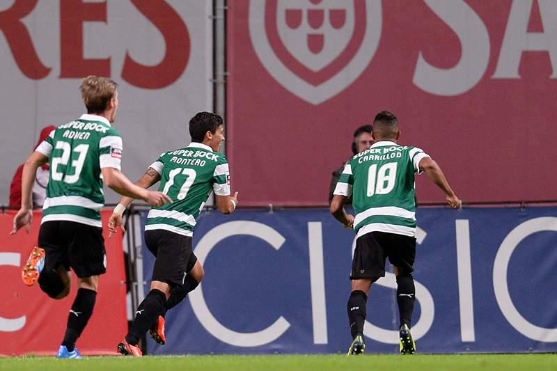 Sporting vence em Braga e sobe para segundo lugar